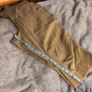Lane Bryant Pants - Dark brown capris